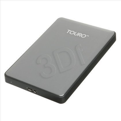 "HDD HGST Touro S GRAY 1TB 2,5"" 7200 USB 3.0,backup soft, aluminium"