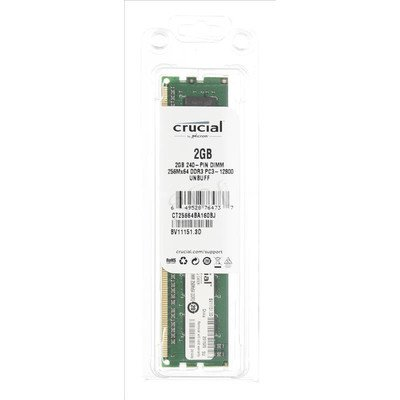 Crucial CT25664BA160BJ DDR3 DIMM 2GB 1600MT/s (1x2GB)