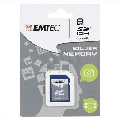 EMTEC SDHC 8GB Class 4 Silver