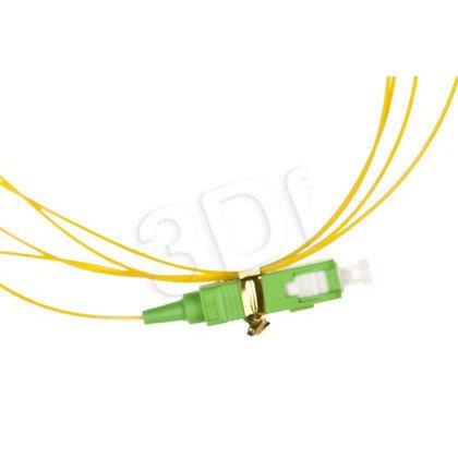 ALANTEC pigtail LSOH 2m SM 1J 9/125 wtyk SC/APC żółty