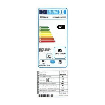 "TV 48"" LCD LED Samsung UE48JU6000 (Tuner Cyfrowy 800Hz Smart TV USB LAN,WiFi)"