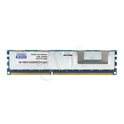 GOODRAM 16GB DDR3 ECC REG 1600MHz W-MEM1600R3D416GG