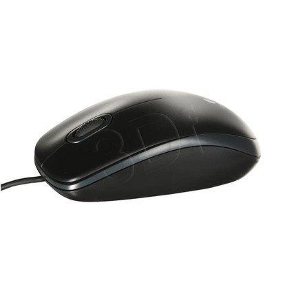 Logitech Mysz przewodowa optyczna B100 czarna