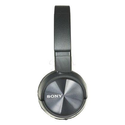 Słuchawki nauszne z mikrofonem Sony MDR-ZX310APB (Czarny)