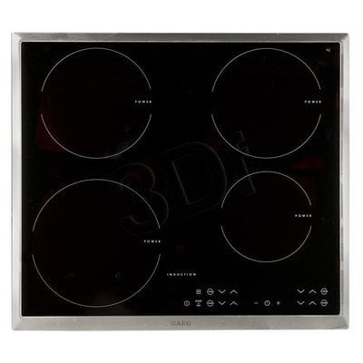 Płyta indukcyjna AEG HK 63420 PXB (elektryczna/ czarna/ 7400W)