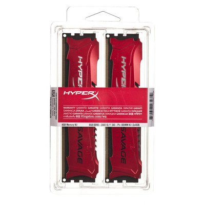 KINGSTON HyperX DDR3 2x4GB 2400MHz HX324C11SRK2/8 Savage