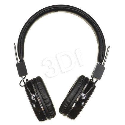 Słuchawki nauszne z mikrofonem ART AP-B02 (Czarny Bluetooth)