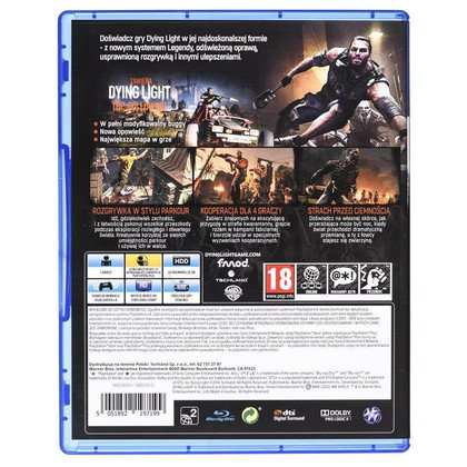 Gra PS4 Dying Light Enhanced Edition