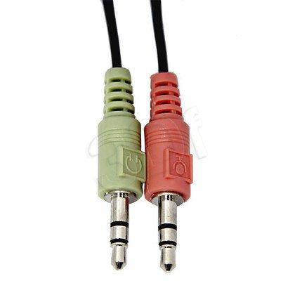 Słuchawki nauszne z mikrofonem Esperanza CANCAN EH117 (Czarny)
