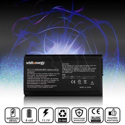 WHITENERGY BATERIA ASUS F5