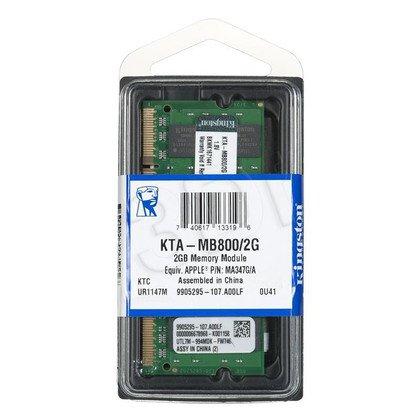 KINGSTON DED.NB KTA-MB800/2G 2GB 800MHz DDR2