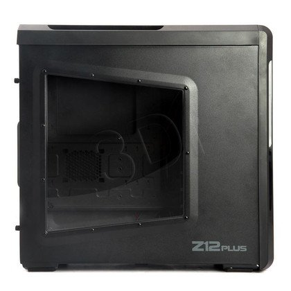 OBUDOWA ZALMAN Z12 PLUS - USB3.0 - CZARNA