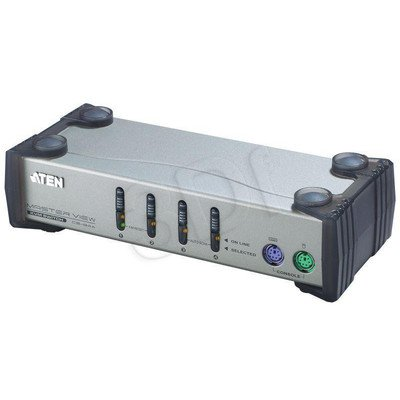 ATEN CS-84A KVM 4/1 PS/2 Master Desktop+kable