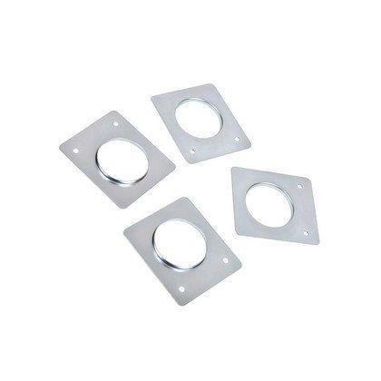 Zestaw instalacyjny wspornika podłogowego do pralki (4szt.) (4055171146)