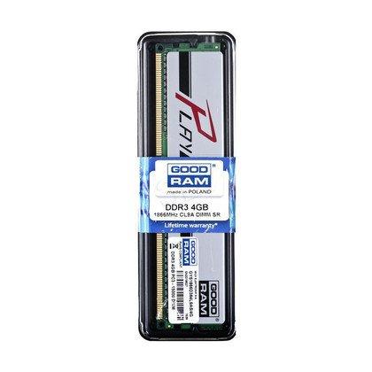 Goodram PLAY DDR3 DIMM 4GB 1866MT/s (1x4GB) Srebrny