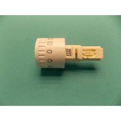 Pokrętło chowane 34A białe nadruk 10600 funkcji piekarnika (8053209)