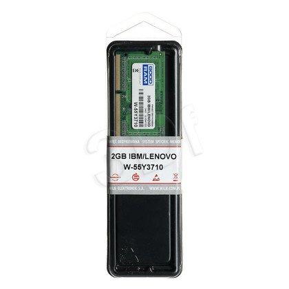 GOODRAM DED.NB W-55Y3710 2GB 1333MHz DDR3