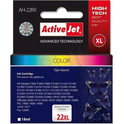 ActiveJet AH-22RX (AH-352) tusz kolorowy do drukarki HP (zamiennik HP 22XL C9352A)