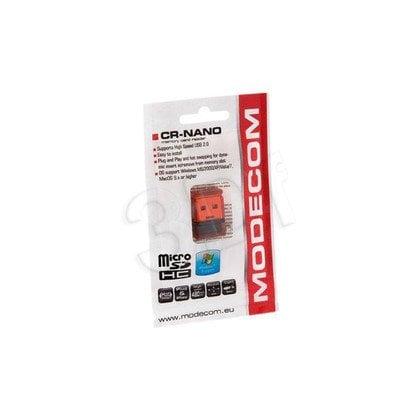 CZYTNIK KART MODECOM micro-SD CR-NANO CZERWONY