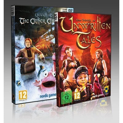 Gra PC The Book of Unwritten Tales Complete Edition (klucz do pobrania)