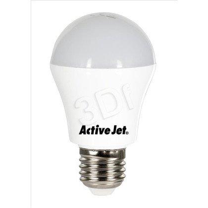 ActiveJet AJE-HS600W Lampa LED SMD Globe 600lm 7W E27 barwa biała ciepła