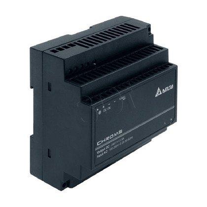 Zasilacz przemysłowy do montażu na szynie DIN DELTA DRC-24V100W1AZ (24V 91,2W) czarny