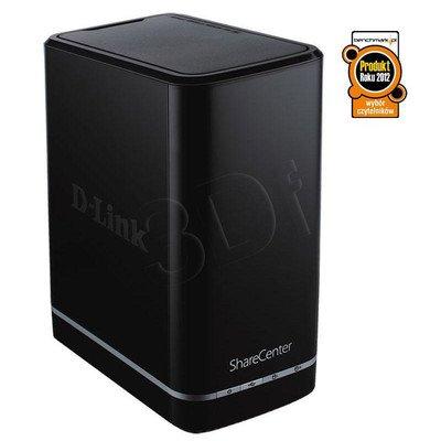 D-LINK [DNS-320L] serwer wolnostojący NAS [LAN Gigabit] [ 2 x 3TB SATA II - bez dysków] [mydlink]