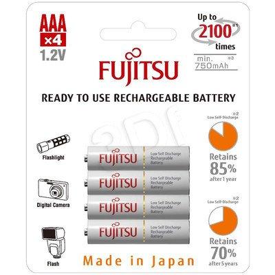 FUJITSU WHITE R03/AAA 750 MAH – 4 SZT BLISTER