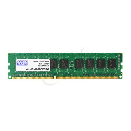 GOODRAM 2GB DDR3 ECC 1600MHz W-MEM1600E32G