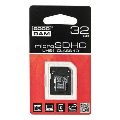 Goodram micro SDHC SDU32GHCUHS1AGRR10 32GB Class 10,UHS Class U1 + ADAPTER microSD-SD