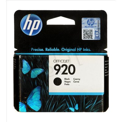 HP Tusz Czarny HP920=CD971AE, 420 str., 10 ml
