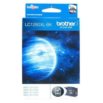 BROTHER Tusz Czarny LC1280XLBK=LC-1280XLBK, 2400 str.
