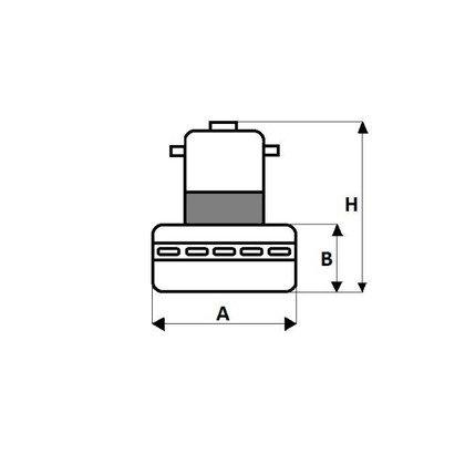 Silnik do odkurzacza Electrolux (4071426110)
