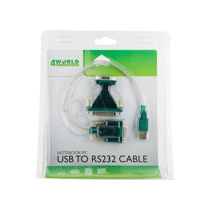ADAPTER USB 2.0 NA RS 232