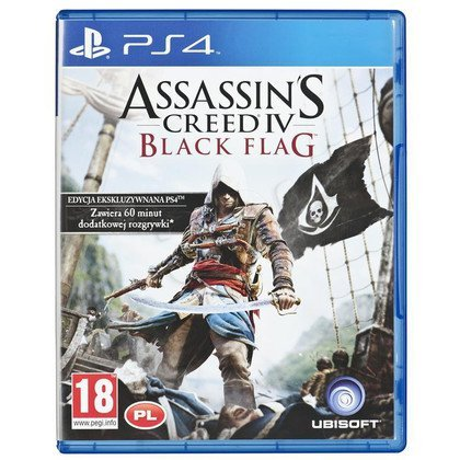 Gra PS4 Assassins Creed 4 Black Flag