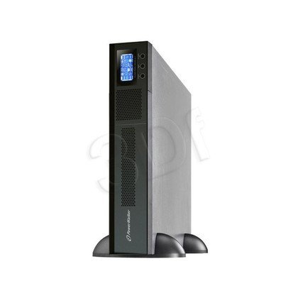 "POWER WALKER UPS ON-LINE 3000VA 6XIEC + 1X IEC/C19 OUT USB/RS-232, LCD RACK 19""/TOWER"