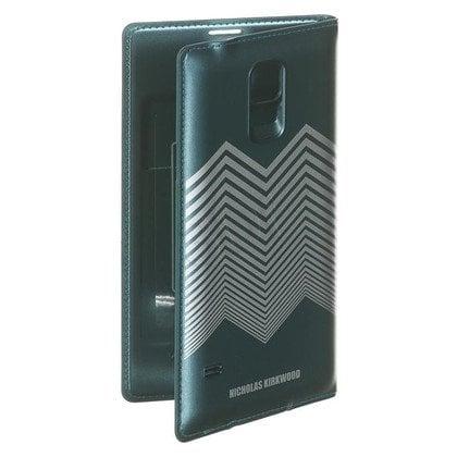 "Samsung Etui do telefonu Flip Wallet Nicolas Kirkwood 5,1"" Galaxy S5 zielono-srebrne"
