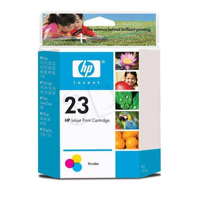 HP Tusz Kolor HP23=C1823D, 640 str., 30 ml
