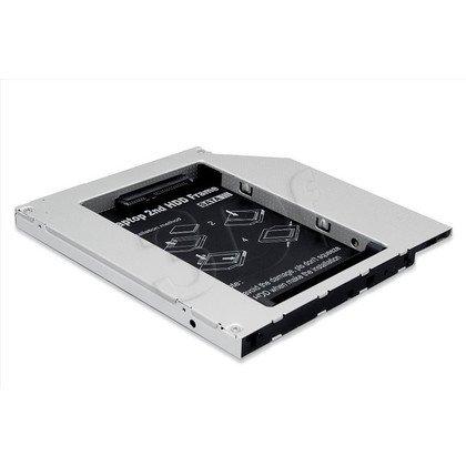 DIGITUS RAMKA MONTAŻOWA SSD/HDD DO NAPĘDU CD/DVD/BLU-RAY, IDE NA SATA, 9,5MM DA-71101