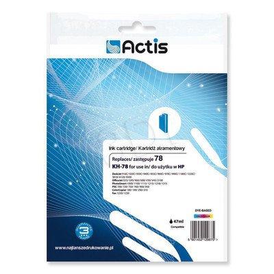 Actis KH-78 tusz trójkolorowy do drukarki HP (zamiennik HP 78 C6578D) Standard