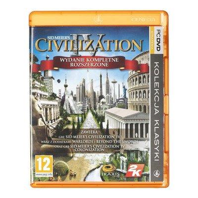 Gra PC PKK Civilization IV Wydanie Kompletne Rozsze