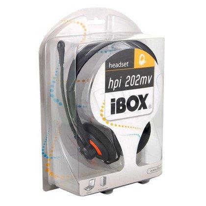 SŁUCHAWKI I-BOX HPI 202MV /Czarne