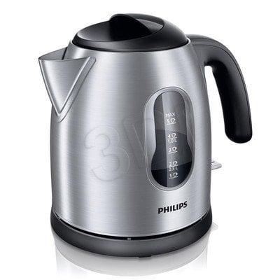 Czajnik elektryczny Philips HD4622/20 (1,25l 2400W Mateliczny)