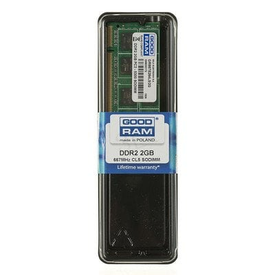 Goodram DDR2 SO-DIMM 2GB 667MT/s (1x2GB) GR667S264L5/2G