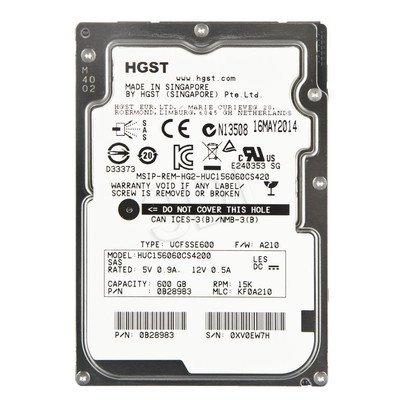 """HDD HGST Ultrastar C15K600 600GB 2,5"""" 15K RPM SAS III 128MB 512e, 4Kn"""