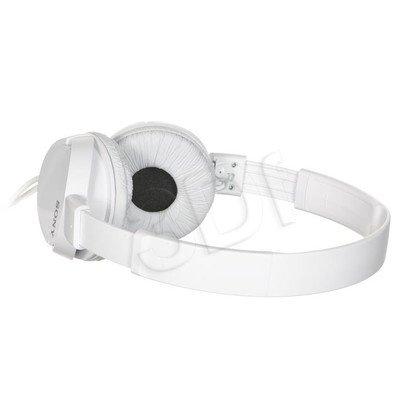 Słuchawki nauszne Sony MDR-ZX110P (Biały)