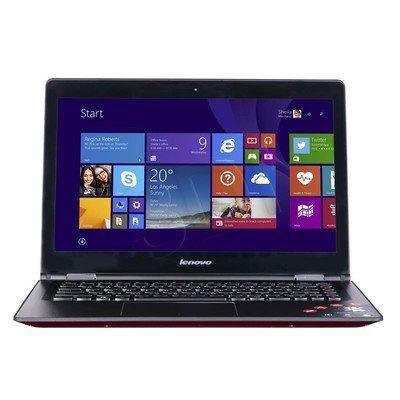 """LENOVO YOGA 500 i7-5500U 8GB 14"""" FHD 500+8GB HD5500 GT940M Win8.1 Czerwony 80N400A2PB 1Y"""