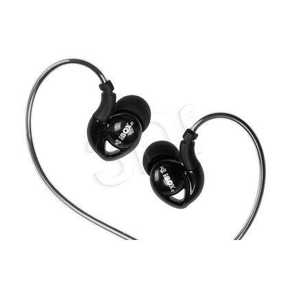 Słuchawki douszne z mikrofonem I-Box S1 Sport (czarny)