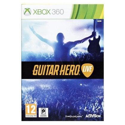 Gra Xbox 360 Guitar Hero Live + gitara