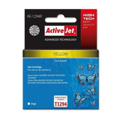 ActiveJet AE-1294R tusz żółty do drukarki Epson (zamiennik Epson T1294) Premium